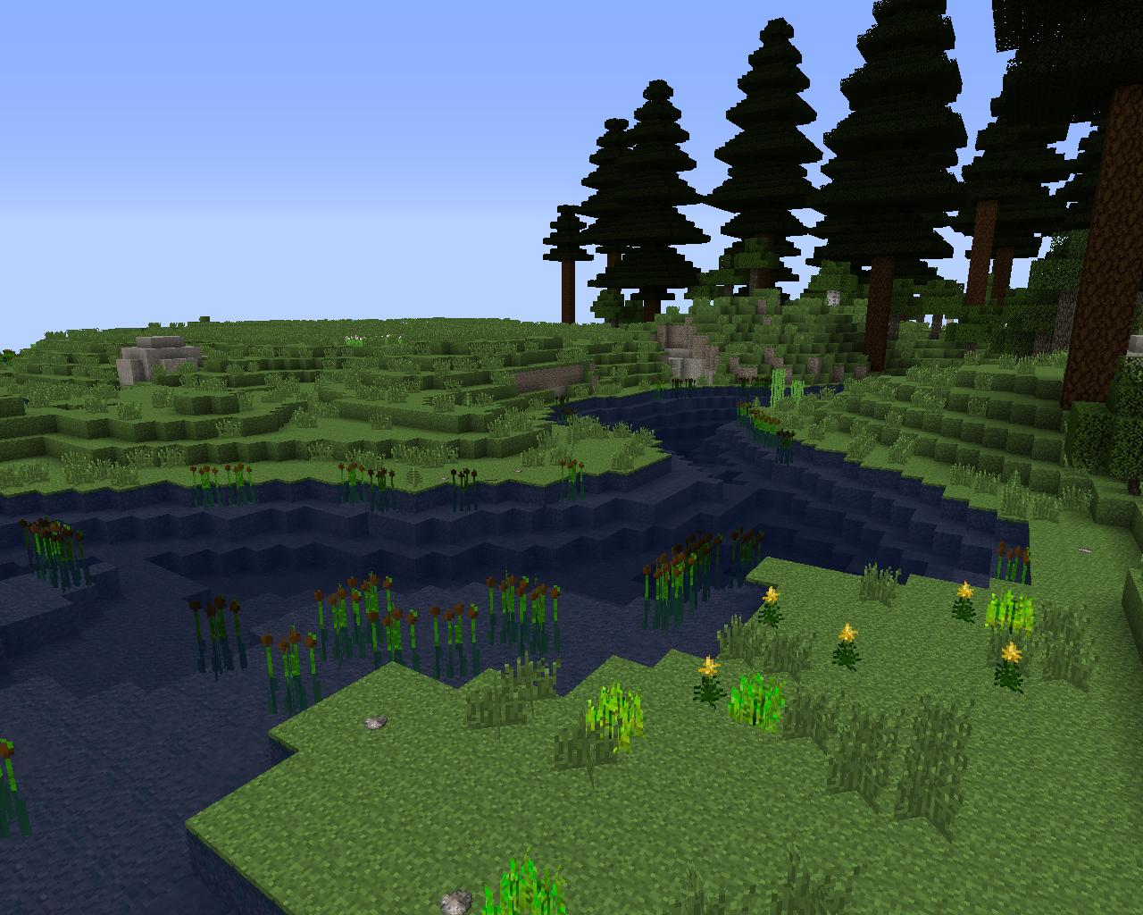 Terrafirmacraft river
